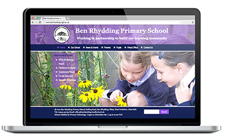 Ben Rhydding Primary School website