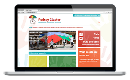 Pudsey Primary School website